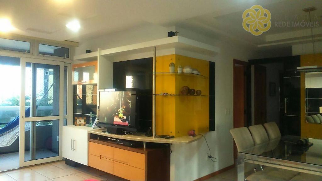 JARDIM DE HOLANDA  Apartamento residencial à venda, Cocó, Fortaleza - AP0529.