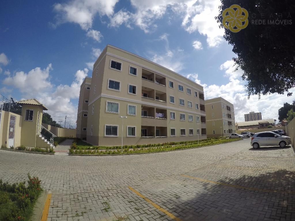 Apartamentos Novos, Prontos Para Morar, Com 3 Quartos (1 Suíte)+ Wc Social, 1 Vaga de Garagem, Passaré, Fortaleza/CE.