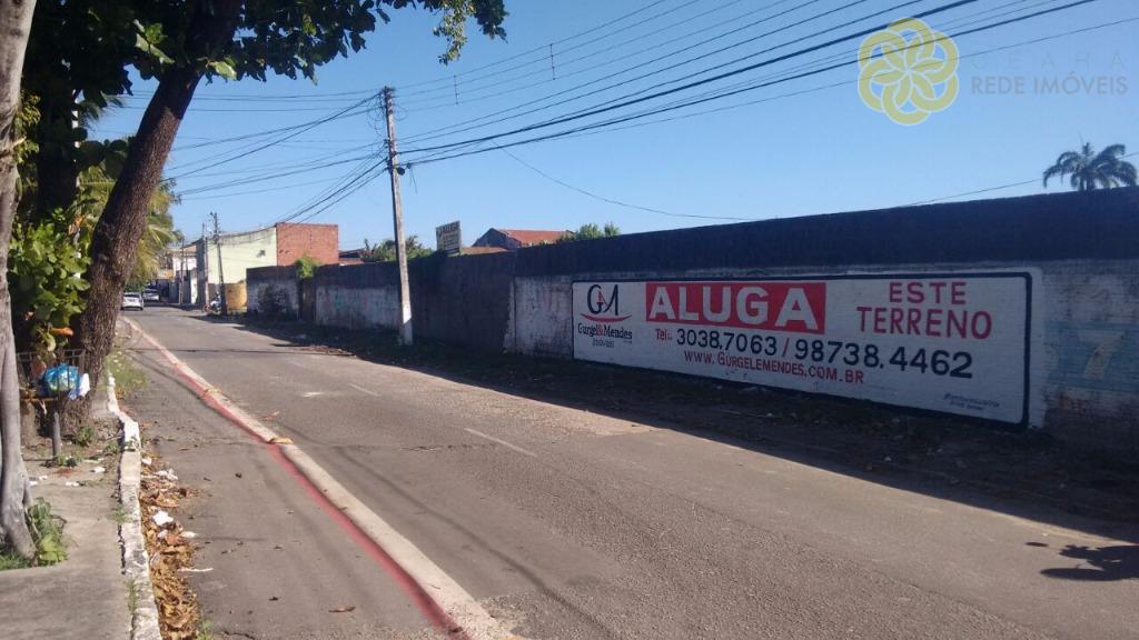 Terreno comercial para locação na Leal Lima Verde, Edson Queiroz, Fortaleza. Aluguel Ponto Comercial