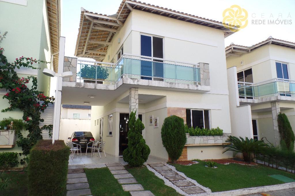 Casa Duplex à venda na Sapiranga, 141 m², 3 suítes, Residencial Monte Olimpo, Fortaleza.