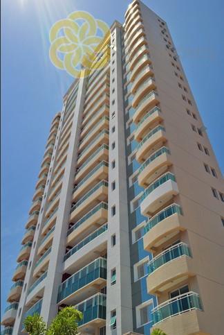 Apartamento à venda no Guararapes, 3 suítes, 117 m², Novo, Fortaleza.