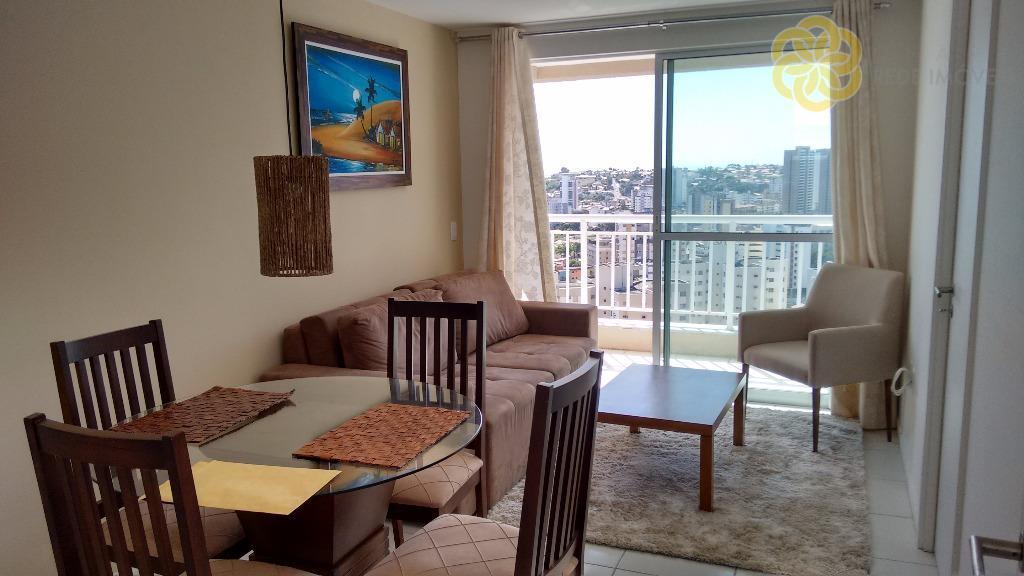 Apartamento mobiliado para venda e locação, Helbor Park Clube I, Papicu, Fortaleza. Aluguel Condomínio