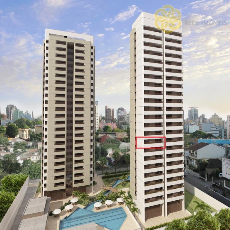 Apartamento à venda na Aldeota, Villa Toscana, 115 m², 3 suítes, Nascente Total, Apartamento Novo, Fortaleza.