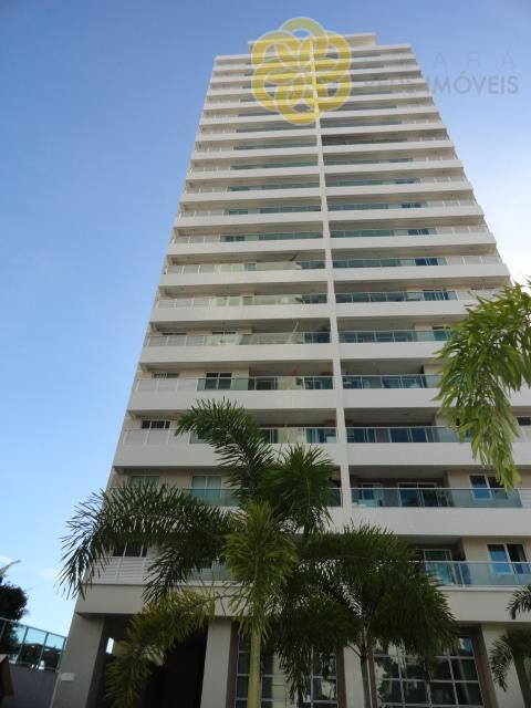 Apartamento novo, 70m², 3 quartos, 2 vagas, Isla Jardim, Luciano Cavalcante, Fortaleza.