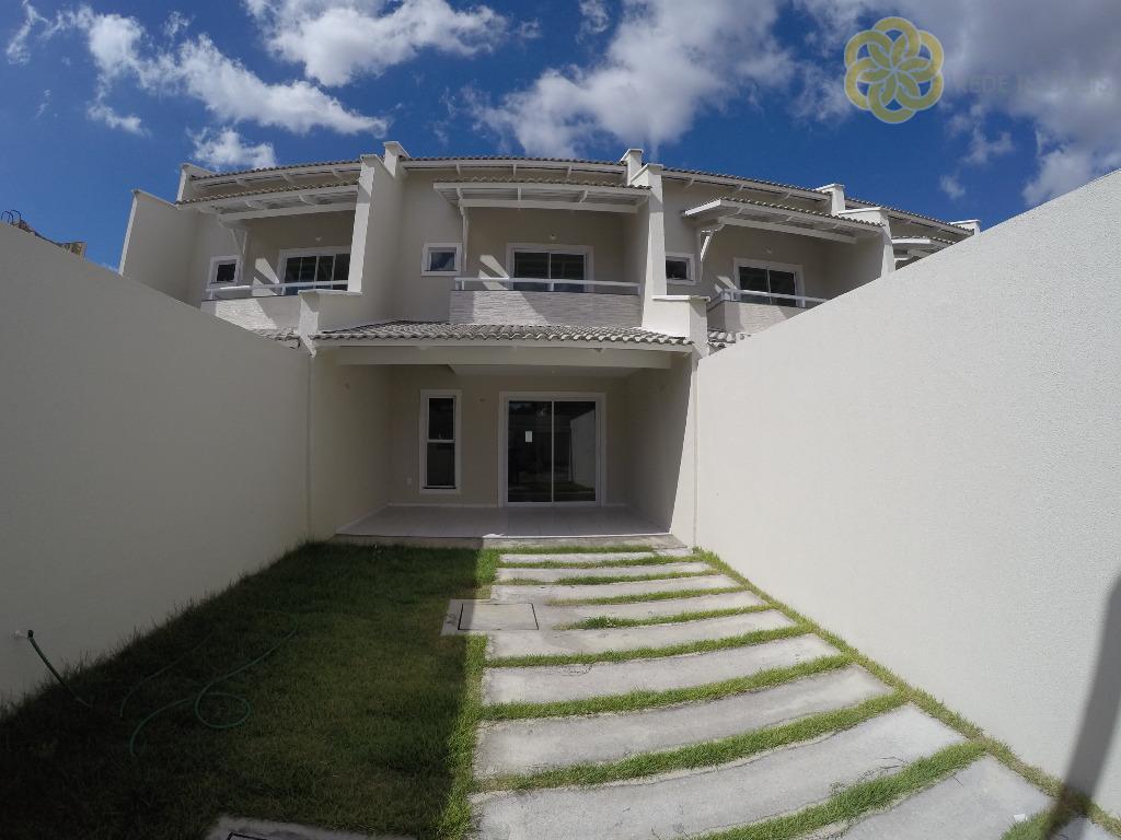 Luxuoso Dúplex, 4 Quartos (2 Suítes) + Wc Social, 3 Vagas de Garagem, 130 m² de Puro Conforto, Passaré - Fortaleza/CE.