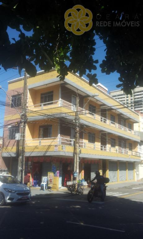Apartamento residencial para locação, Fátima, Fortaleza.
