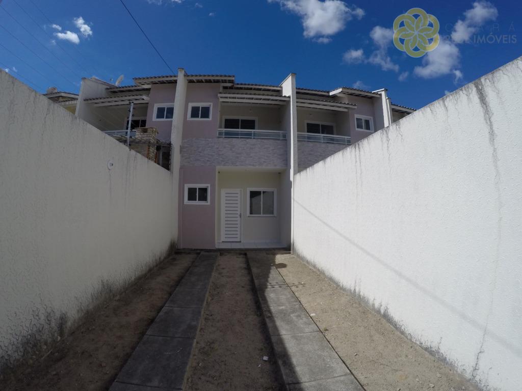 Maravilhoso Dúplex Novo, 3 Quartos (2 suítes)+ Wc Social, 3 Vagas de Garagem, 95 m², Passaré - Fortaleza/CE.
