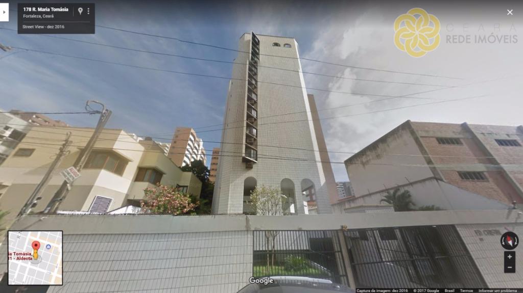 Apartamento residencial à venda na melhor localização da Aldeota, Fortaleza - AP0174.