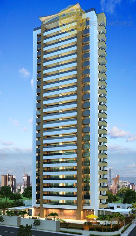 Apartamento à venda na Aldeota, 3 suítes, Andar alto, Port Valencia, Lançamento, Fortaleza
