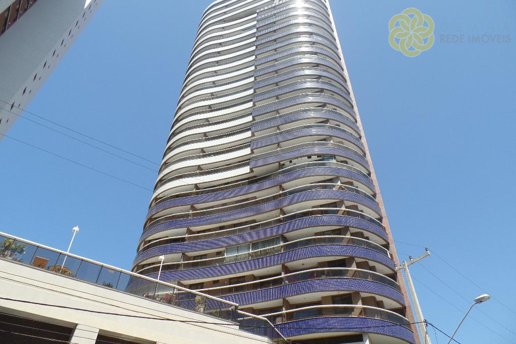 Apartamento à venda no Meireles, Ed. Enseada do Mucuripe, 2 suítes, Vista Mar, Mobiliado, Fortaleza.