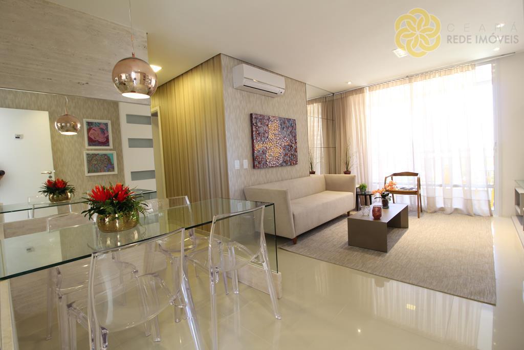 Apartamento residencial à venda, Cocó, Fortaleza - AP0123.