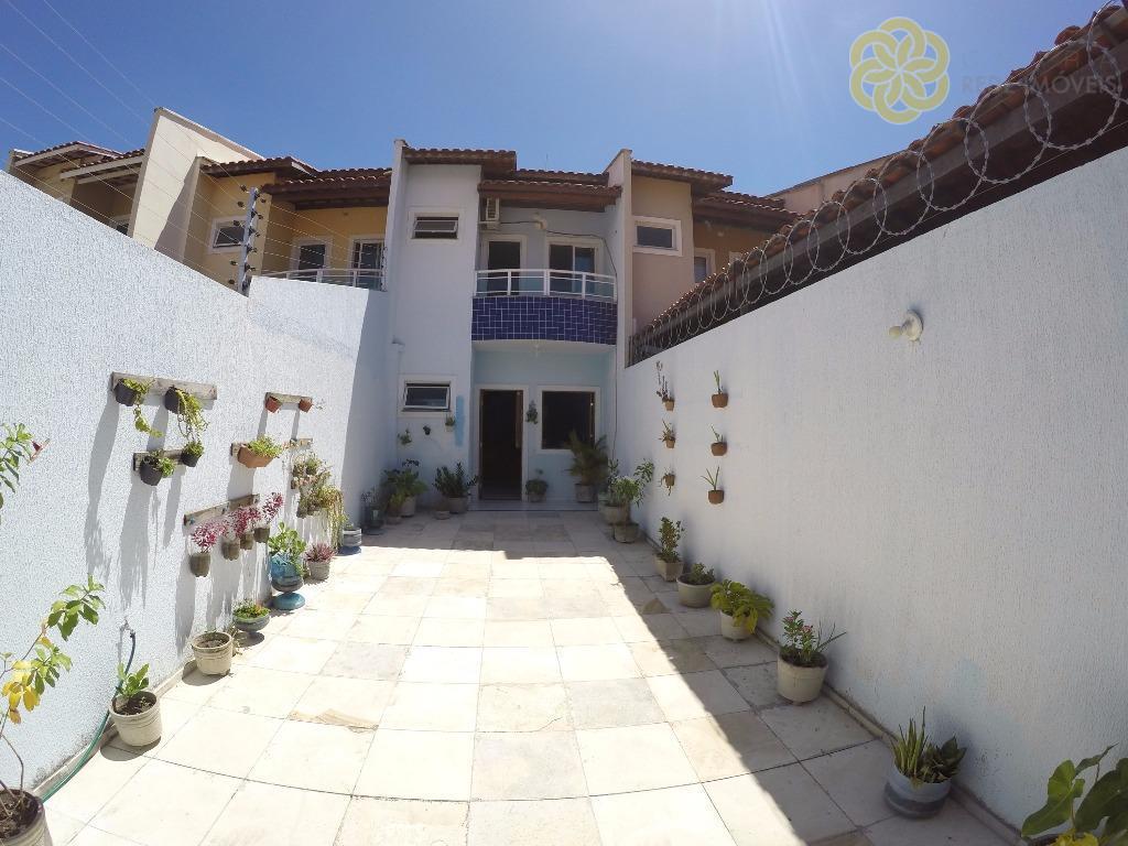 Maravilhosa Casa Dúplex, 3 Quartos (2 Suítes Com Varanda) + Wc Social, 3 Vagas de Garagem, 105 m², Passaré, Fortaleza/CE.