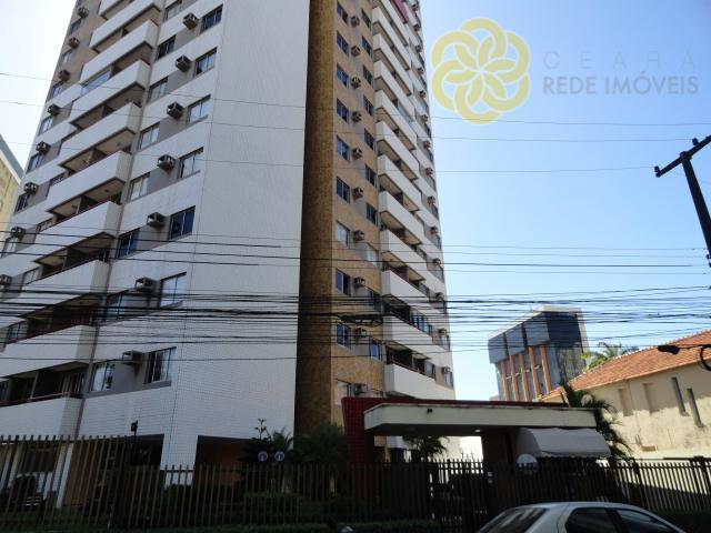 Apartamento 100m², 3 quartos, 2 vagas, Edifício La Fontaine, Aldeota, Fortaleza.