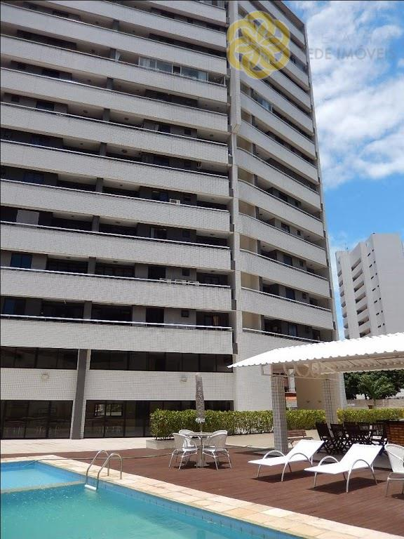 Apartamento  residencial para locação, Cocó, Fortaleza.