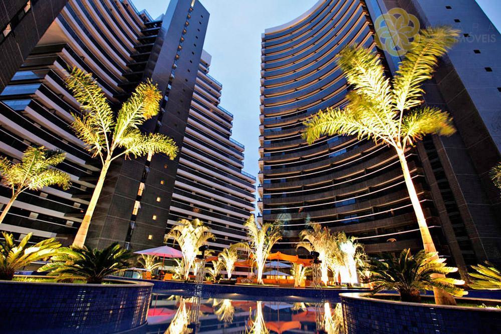 Apartamento residencial à venda, Cond. Landscape Meireles, Fortaleza.