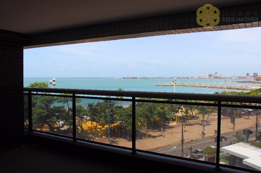 Apartamento com Vista para o Mar, 2 quartos, 1 suite, Landscape Beira Mar, Meireles, Fortaleza. Aluguel Residencial.