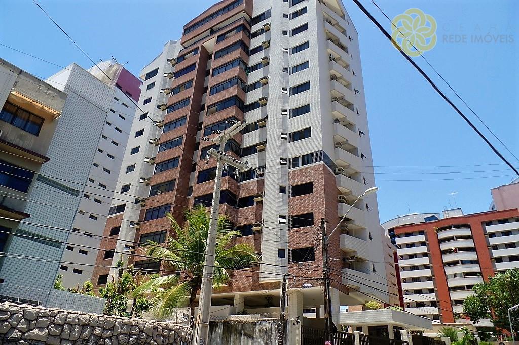 Apartamento  venda ou aluguel no Meireles, Fortaleza. Condomínio Edifício Maranata II. Vista mar. 3 suítes