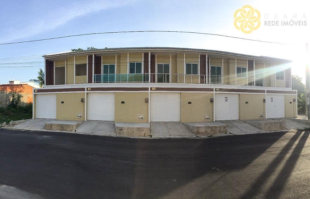 Venda e Locação: Casa Duplex 65 m², 1 suíte, 2 quartos, 2 vagas, Passaré, Fortaleza.