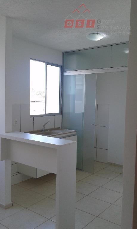 Apartamento residencial para locação, Residencial Greenville, Ribeirão Preto.