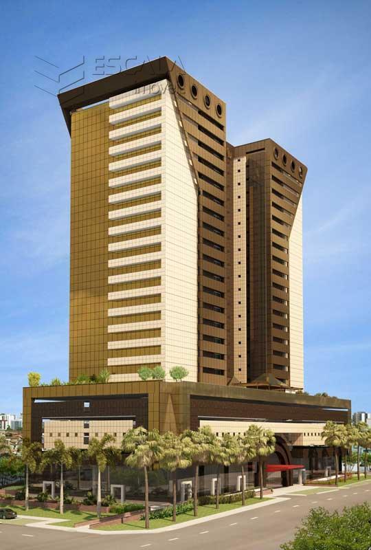 Salas comerciais à venda na Aldeota, de 34,60m2, Financiadas.