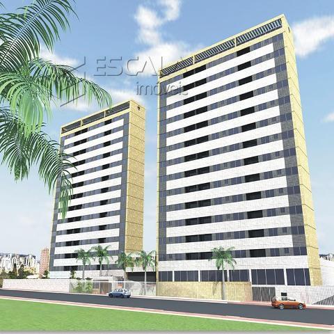Apartamento no Guararapes, novo, 70m2, 2 suítes, 2 vagas. Financia.