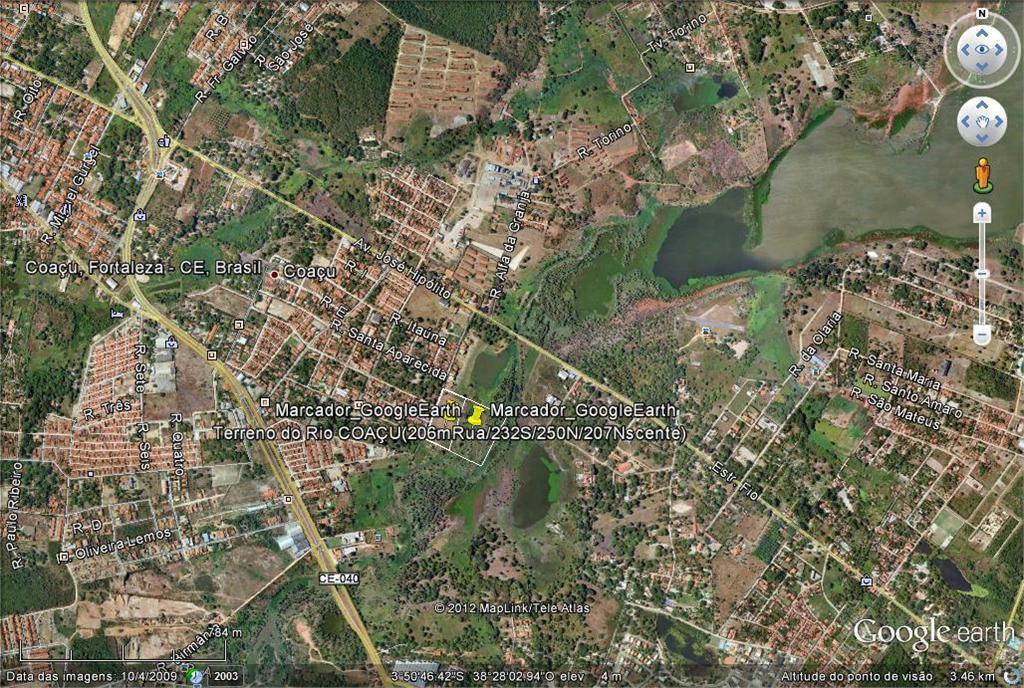 Terreno  residencial à venda, Coaçu, Eusébio.
