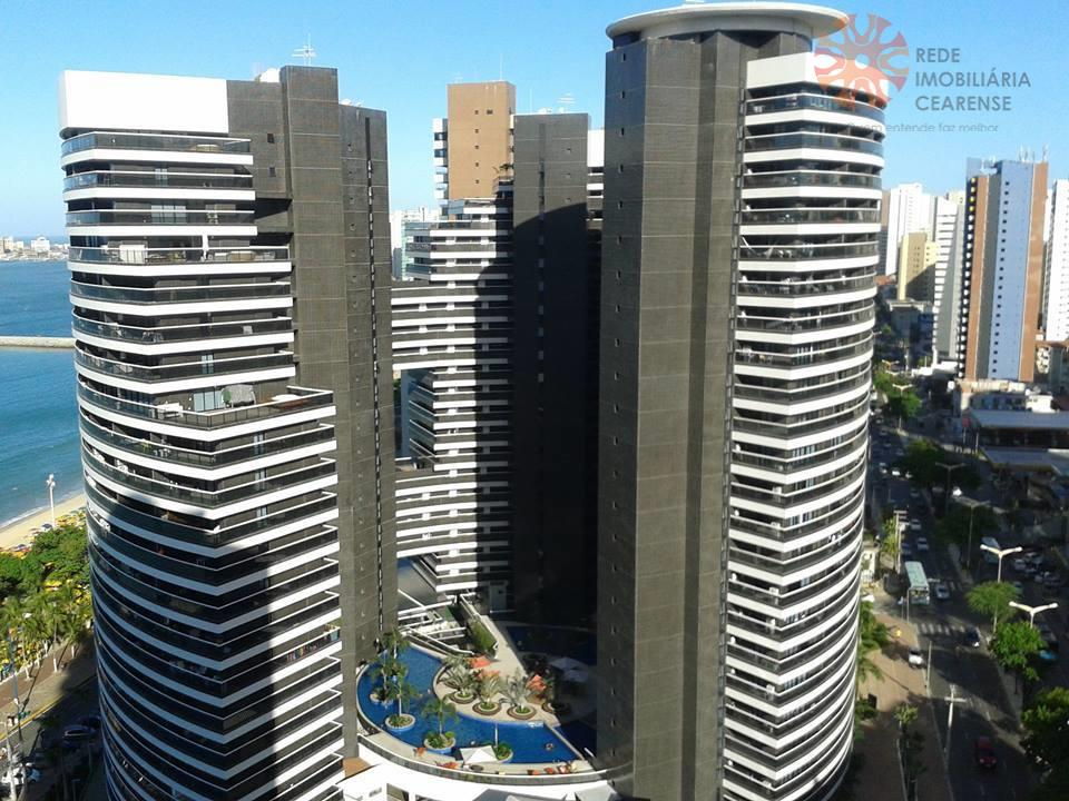 Apartamento para alugar, 1 quarto, Meireles, Mobiliado com Internet e TV a Cabo