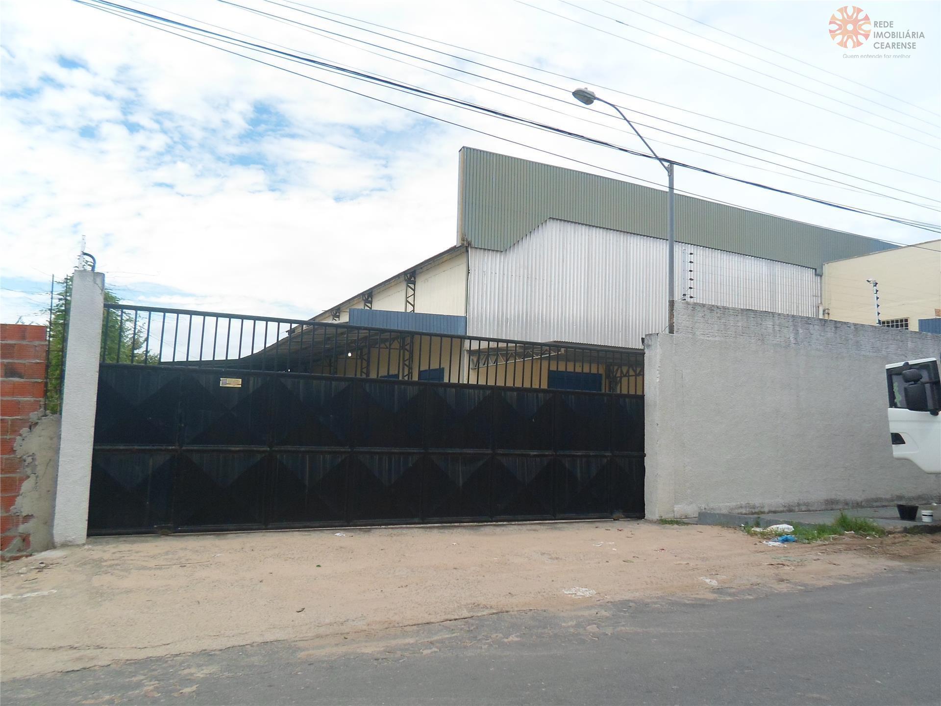 Galpão comercial à venda, Messejana, Fortaleza - GA0023.