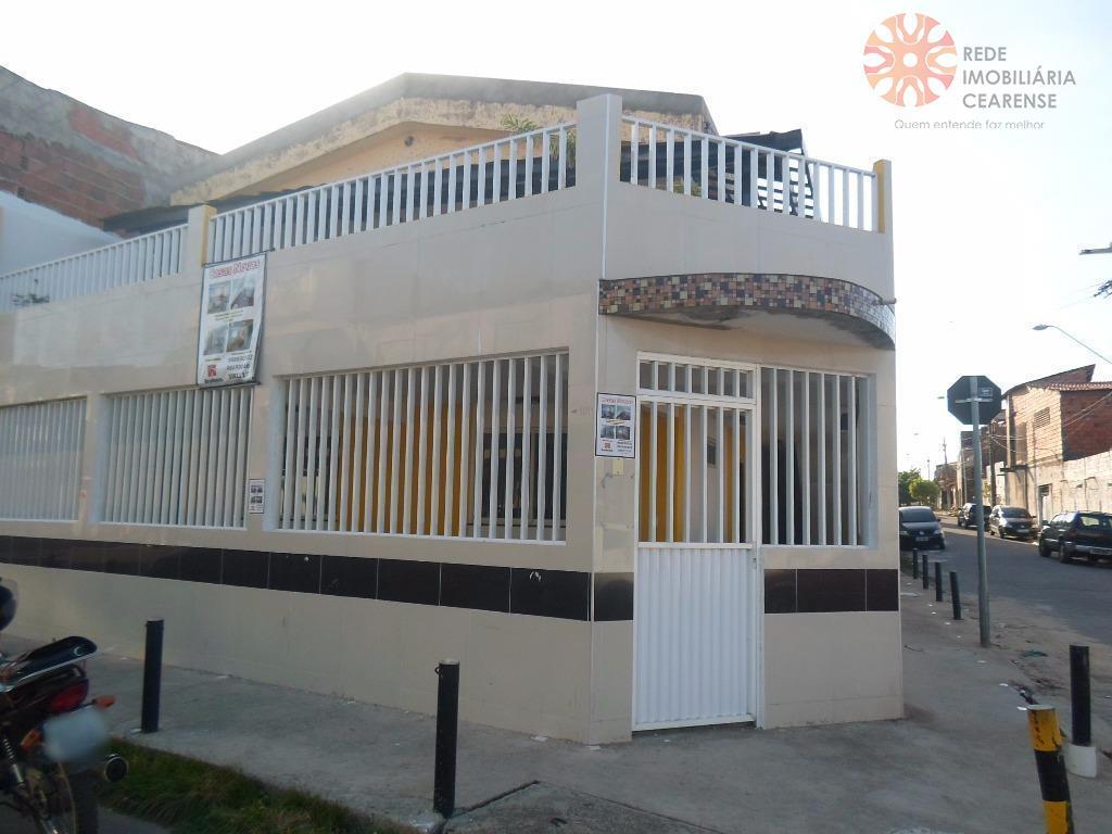 Casa residencial à venda, Barra do Ceará, Fortaleza - CA1158.