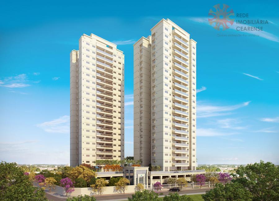 Apartamento à venda no bairro de Fátima, próximo 13 de Maio, 3 quartos, 2 suítes, 2 vagas, 89m2. Entrega em 2017. Financia.