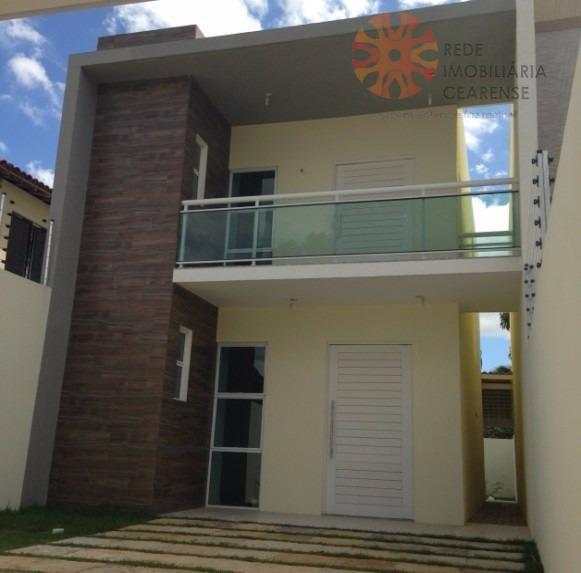 Casa residencial à venda, Centro, Eusébio - CA1301.