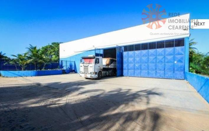 Galpão comercial para locação, Jangurussu, Fortaleza - GA0004.