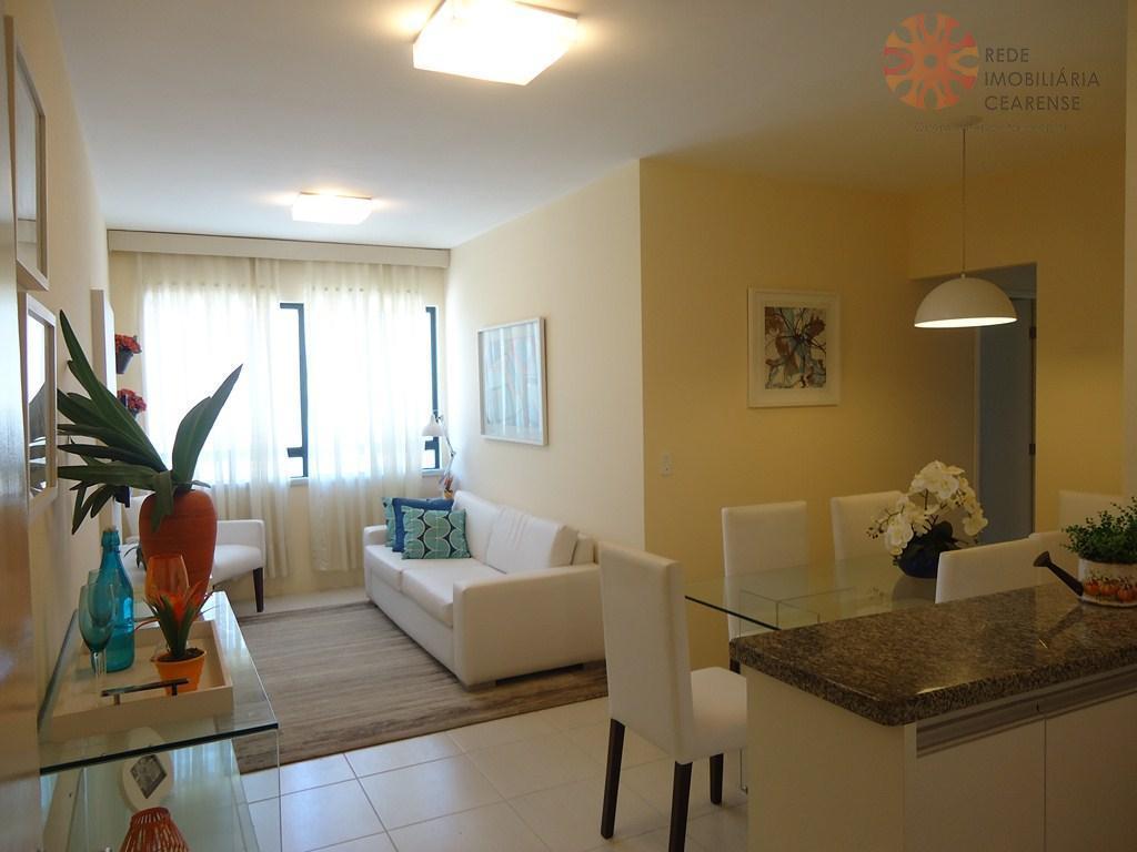 Apartamento à venda no Passaré, 60m2, 3 quartos, 2 suítes, lazer completo, novo. Financia.