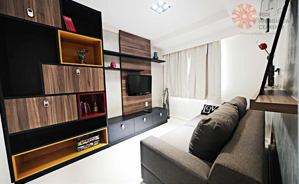 Apartamento à venda no Papicu ao lado do Rio Mar. 119,31m2, 3 suítes. Pronto para morar. Financia.