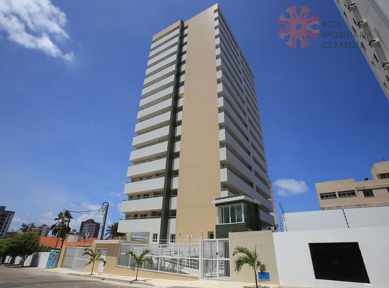 Apartamento à venda no Papicu ao lado do Rio Mar. Novo, 90,37m2, 3 quartos. Pronto para morar. Financia.