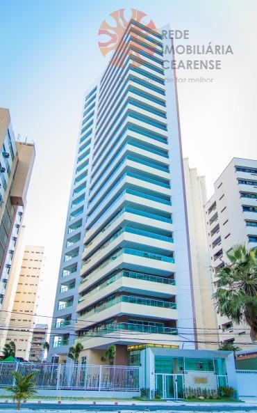 Apartamento alto padrão à venda no Meireles, a poucas quadras da Beira Mar. 4 suites, novo, financia.ç