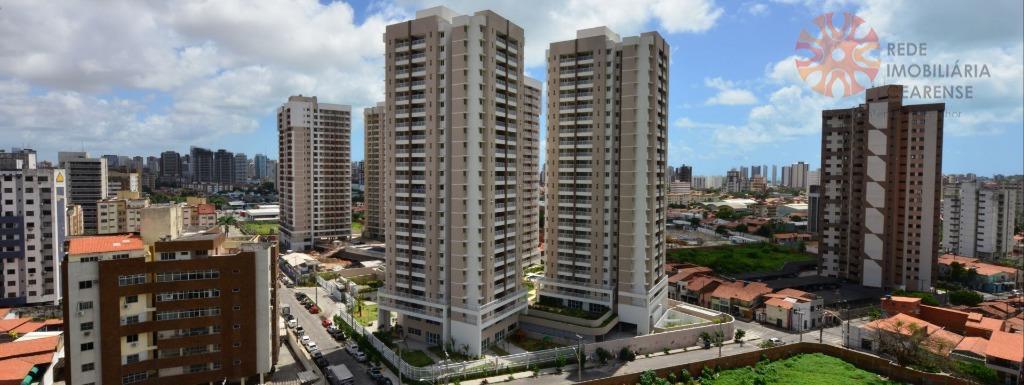 Apartamento à venda no Papicu, novo, 3 quartos, 69,90m2, 3 quartos, 1 suíte. Financia.