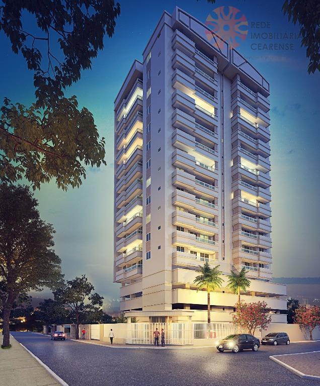 Apartamento à venda no Guararapes. 69,79m2, 3 quartos, 2 suítes, lazer. Financia.