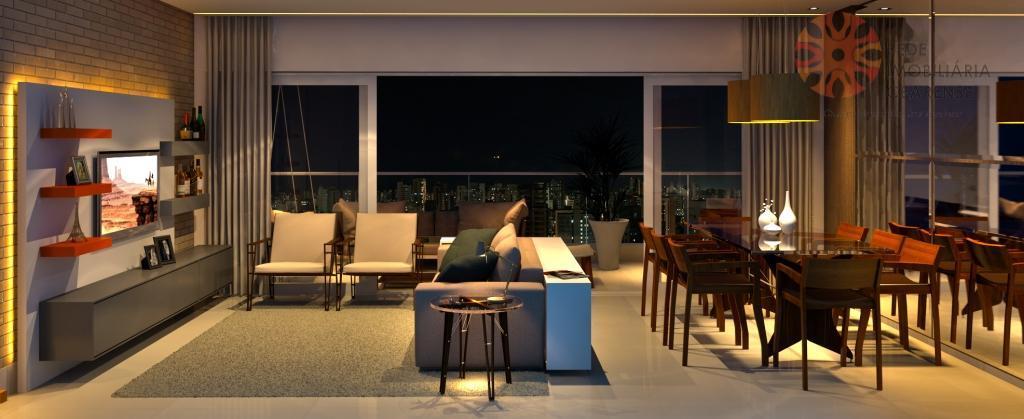 Excelente apartamento a venda na Aldeota, 156m2, 3 suítes, gabinete. Financia.