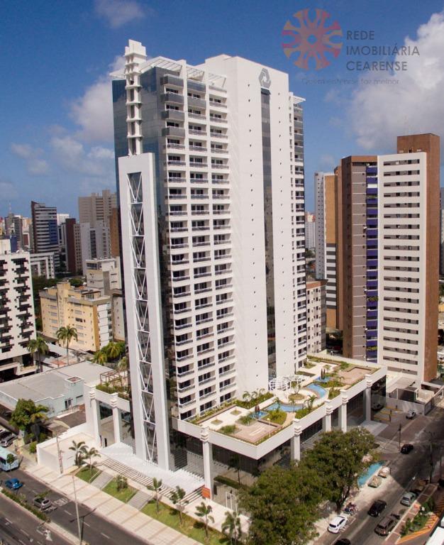 Salas comerciais à venda na Aldeota, 32,75m2, Financia.