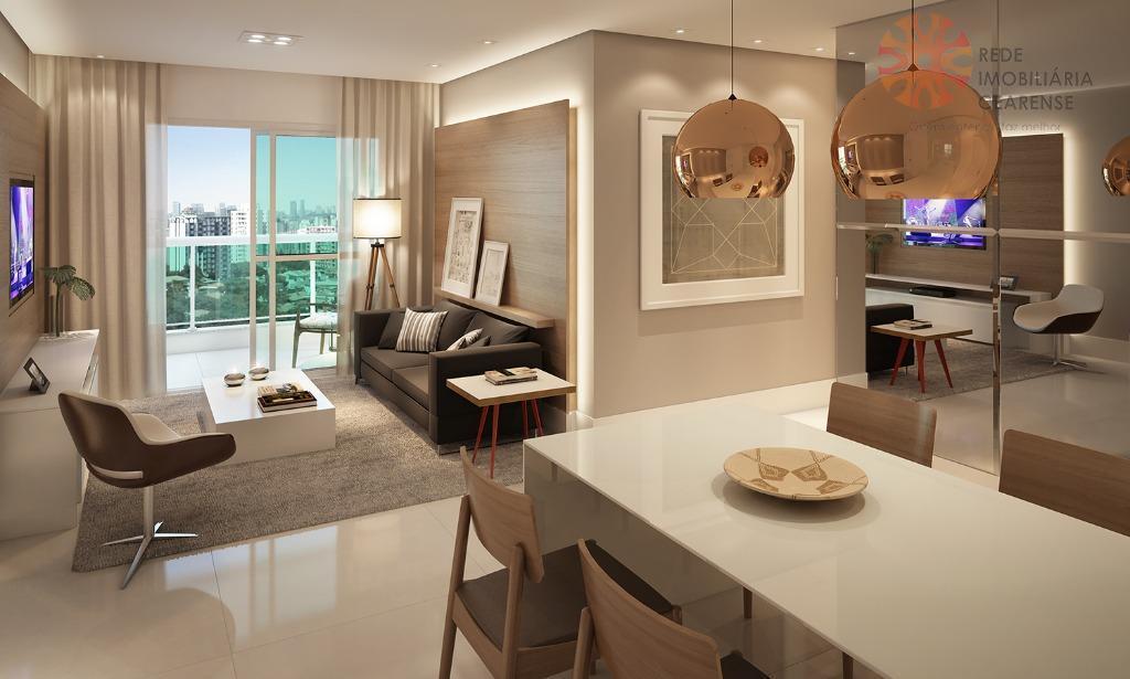 Apartamento à venda no Bairro de Fátima.  111,34m2, 3 quartos. Financia.