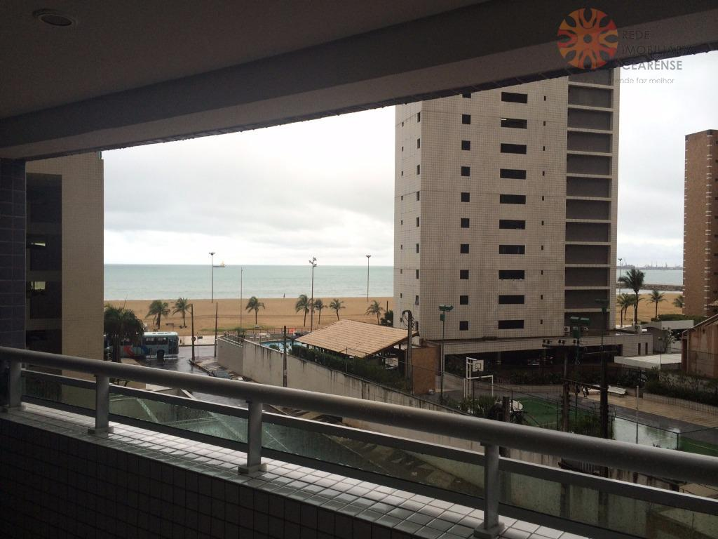 Apartamento para locação. 2 quartos, Meireles, Beach Class, Com Internet / TV a Cabo