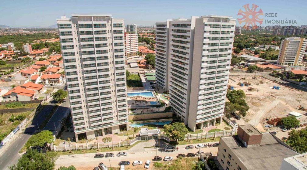 Apartamento à venda no Guararapes, próximo ao Iguatemi. Novo, 70m2, 3 quartos, suíte. Lazer completo. Financia.