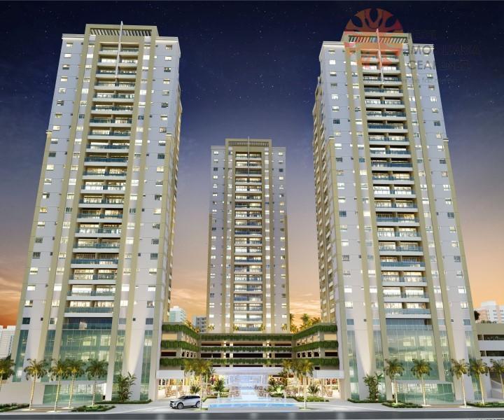 Apartamento à venda no bairro de Fátima. 54,95m2, 2 quartos, 1 suíte. Lazer completo. Financia.