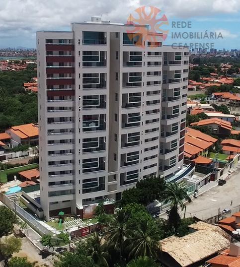 Apartamento à venda no Guararapes. Novo, 144m2, 3 suítes, 3 vagas. Lazer completo. Financia.