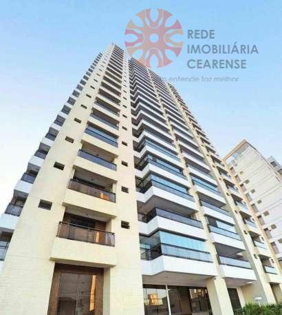 Apartamento à venda na Aldeota. 19º andar, 100% projetado, 120m2, 3 suítes, 3 vagas. Financia.