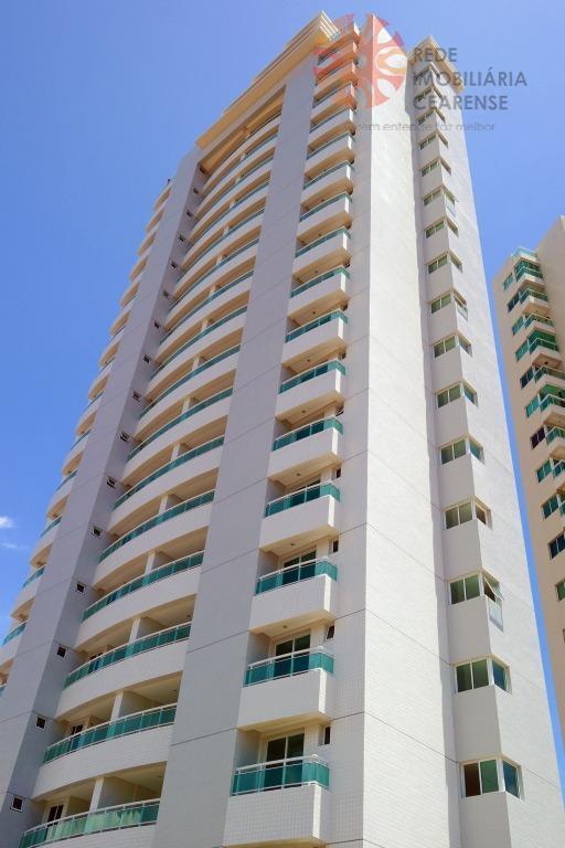 Apartamento à venda no Bairro de Fátima. Novo, 106m2, 3 suítes, lazer completo. Financia.
