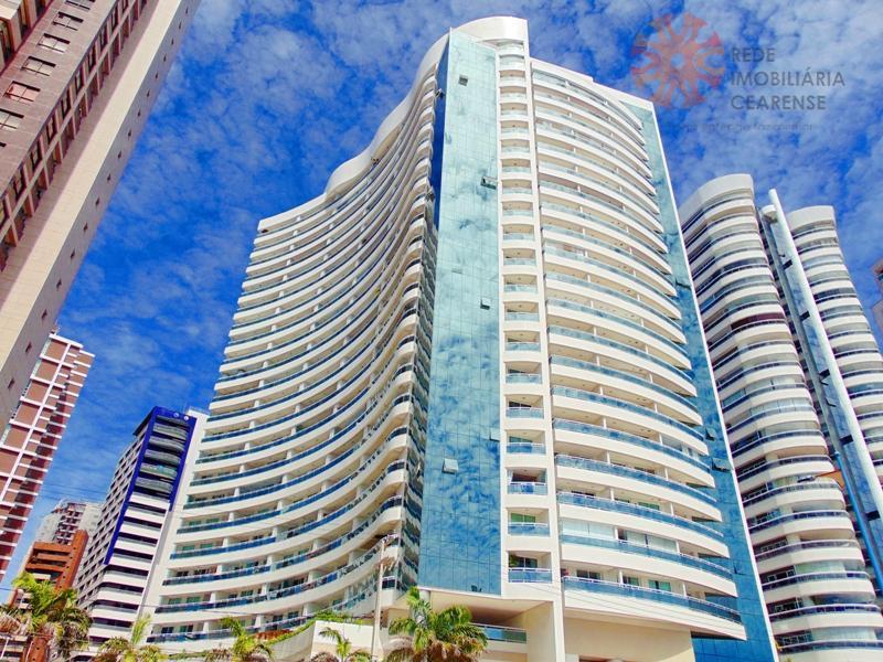 Cobertura duplex na Beira mar. Alto padrão, 143m2, 4 quartos, 2 suítes, 3 vagas.