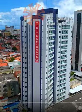 Apartamento à venda no bairro de Fátima, em Fortaleza. 90m2, 3 suítes, financia.