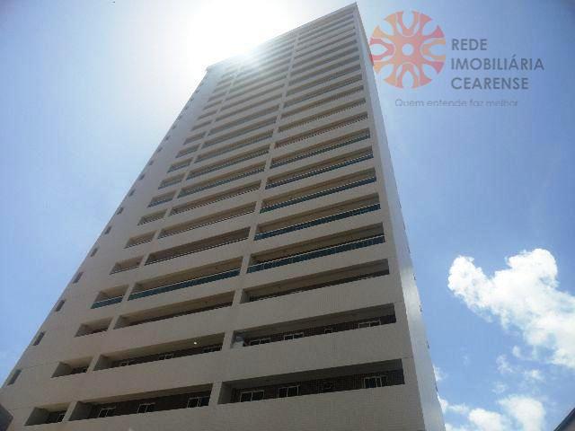 Apartamento residencial à venda, Mucuripe, Fortaleza.